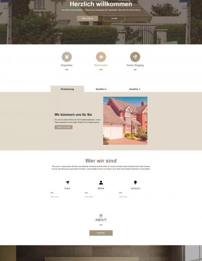 Finanzwebseite